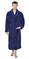 Shawl Fleece Bathrobe