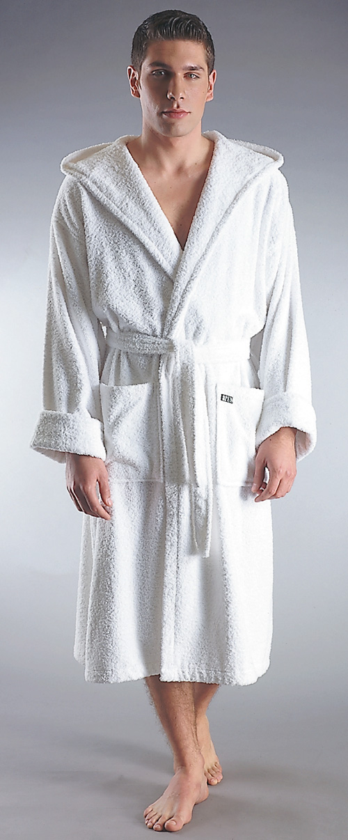 Arus Bathrobes and Towels: Men\'s, Full Length, Hooded, Luxury ...